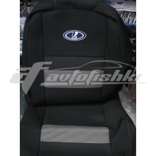 Чехлы на сиденья для ВАЗ Lada Priora 2172 htb с 2008 г