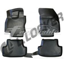 Коврики резиновые на Audi A3 (8V) SD (12-) тэп к-т