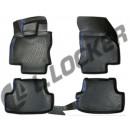 Коврики резиновые на  Audi A3 (8V) SB (12-) тэп к-т