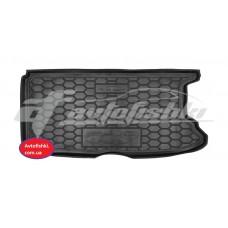 Коврик в багажник резиновый для FIAT 500e Avto-Gumm