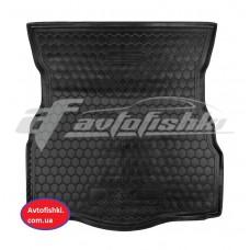 Резиновый коврик в багажник для Ford Mondeo V Hatchback (хэтчбек) 2015-... Avto-Gumm