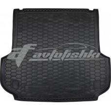 Резиновый коврик в багажник для Mitsubishi Pajero Sport III 2016-... Avto-Gumm
