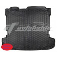 Резиновый коврик в багажник для Mitsubishi Pajero Wagon IV 2006-... Avto-Gumm