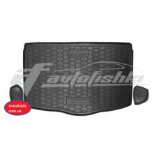 Резиновый коврик в багажник для Nissan Qashqai II 2017-… (нижний) Avto-Gumm