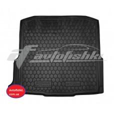 Резиновый коврик в багажник для Skoda Octavia A7 (универсал) 2013-... Avto-Gumm