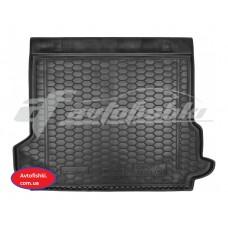 Резиновый коврик в багажник для Toyota Land Cruiser Prado 150 (5 мест) 2018-... Avto-Gumm
