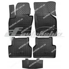 Резиновые коврики в салон для Audi Q3 2011-... Avto-Gumm