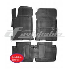 Резиновые коврики в салон для Honda Accord IX 2013-... Avto-Gumm