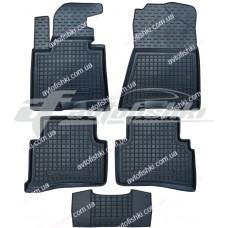 Резиновые коврики в салон для Kia Sportage IV 2016-... Avto-Gumm