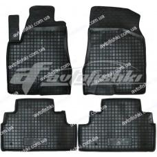 Резиновые коврики в салон для Lexus RX 300/330/350 2003-2009 Avto-Gumm
