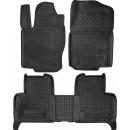 Коврики резиновые в салон для Mercedes GL X166 2012-… 2 ряда Avto-Gumm