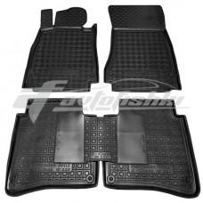 Резиновые коврики в салон для Mercedes W222 Long 2014-... Avto-Gumm