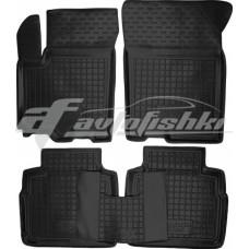 Резиновые коврики в салон для Suzuki SX4 2014-... Avto-Gumm