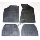АУДИ 80 (B3)/ 90 (B4) с 1986-1994 к-кт 4шт.коврики резиновые