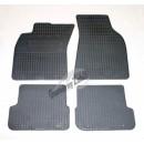 АУДИ А6 с 2006-2011 к-кт 4шт. коврики резиновые