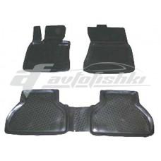 Коврики резиновые на BMW X5-53 (99-) тэп к-т