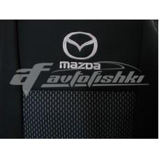 Чехлы на сиденья для Mazda 5 I (7 мест) 2005-2010 EMC Elegant