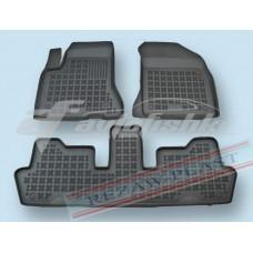Коврики в салон резиновые для Citroen C4 Picasso I 2006-2013 Rezaw-Plast