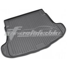 Резиновый коврик в багажник на Honda CR-V III 2007-2012 Novline