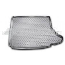 Резиновый коврик в багажник на Lexus CT200h (с сабвуфером) 2010-... Novline (Element)