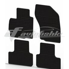 Коврики резиновые на PEUGEOT 4008 2012- черные 4 шт.