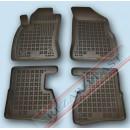 Коврики резиновые для Fiat Doblo II c 2009, 5 сидений, 7 сидений