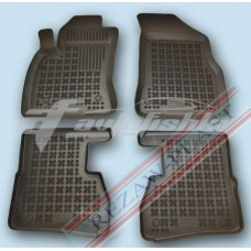 Коврики в салон резиновые для Fiat Doblo II 2010-... Rezaw-Plast