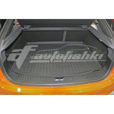 Резиновый коврик в багажник на Ford Focus II Hatchback (хэтчбек) 2004-2011 Novline (Element)