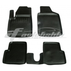 Коврики резиновые на Fiat 500 (09-) тэп к-т
