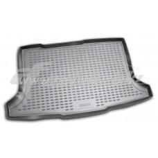Резиновый коврик в багажник на Fiat Sedici 2006-2014 Novline (Element)