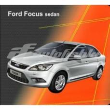 Чехлы на сиденья для Ford Focus II Sedan 2004-2011 EMC Elegant