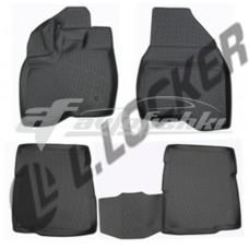 Коврики резиновые на Ford Explorer V (10-) тэп к-т