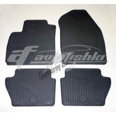 Коврики в салон резиновые на Ford Fiesta 2010-2018 Gumarny Zubri