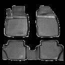 Коврики резиновые на  Ford Fiesta (02-) тэп к-т