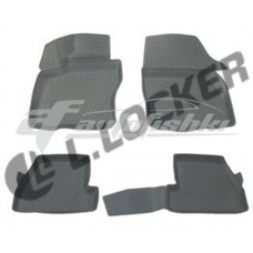 Коврики резиновые на Ford Focus III (11-) тэп к-т