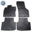 Коврики резиновые для VW Passat B8 2014- GumarnyZubri