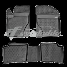 Резиновые коврики на Geely MK / MK2 2006-2020 Lada Locker
