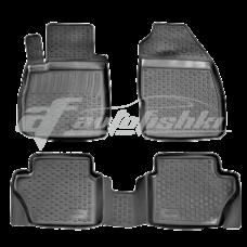 Резиновые коврики на Ford Fiesta 2010-2018 Lada Locker