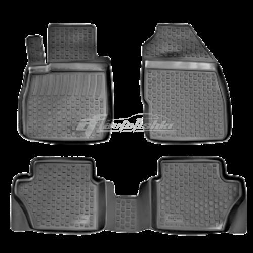 Коврики резиновые на Ford Fiesta (11-) тэп к-т