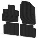 Коврики резиновые на HONDA Civic IX 3/5d hatchback 2012-  черные
