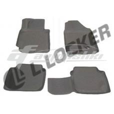 Коврики резиновые на Hyundai Elantra (11-) тэп к-т