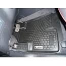 Коврики резиновые на  Hyundai Santa Fe new (06-) тэп к-т