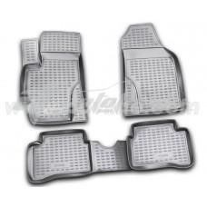 Резиновые коврики в салон на Hyundai Accent / Verna 2006-2011 Novline (Element)