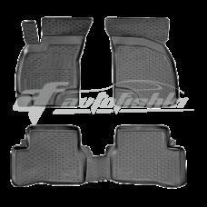 Коврики резиновые на Hyundai Accent / Verna 2006-2011 Lada Locker