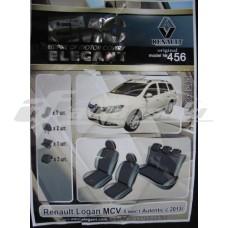 Чехлы на сиденья для Renault Logan MCV 2013-... EMC Elegant