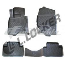 Резиновые 3D коврики на Infiniti FX35 / FX37 / FX50 / FX30d 2008-2013 Lada Locker