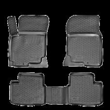 Резиновые коврики на Kia Ceed 2006-2012 Lada Locker