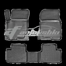 Резиновые коврики на Kia Cerato 2004-2009 Lada Locker
