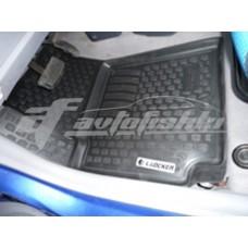 Резиновые коврики на Kia Picanto 2004-2011 Lada Locker