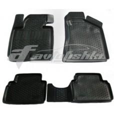 Резиновые коврики на Kia Sportage III 2010-2016 Lada Locker